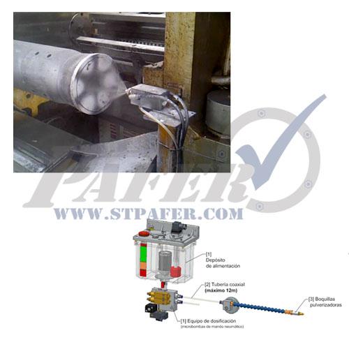 sistemas de lubricacion de prensa y sierra